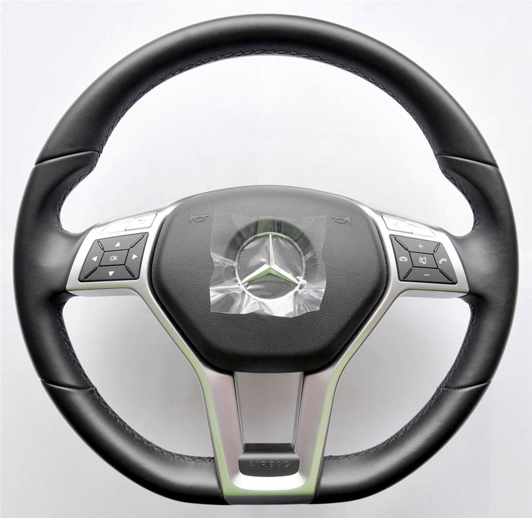 Mercedes amg steering wheel a b c cls e slk clk cla glk sl for Mercedes benz steering wheel control buttons