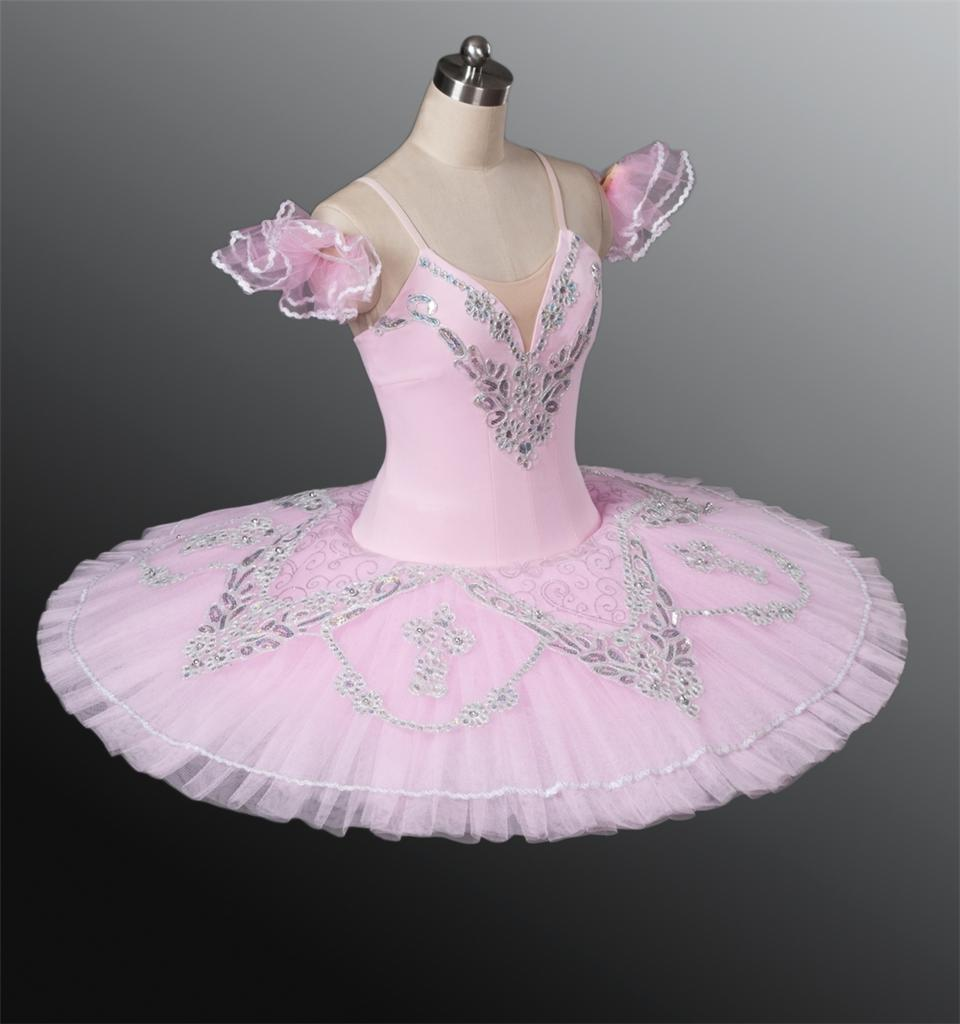 Image Is Loading Classical Ballet Tutu Professional Competition Pink Aurora All