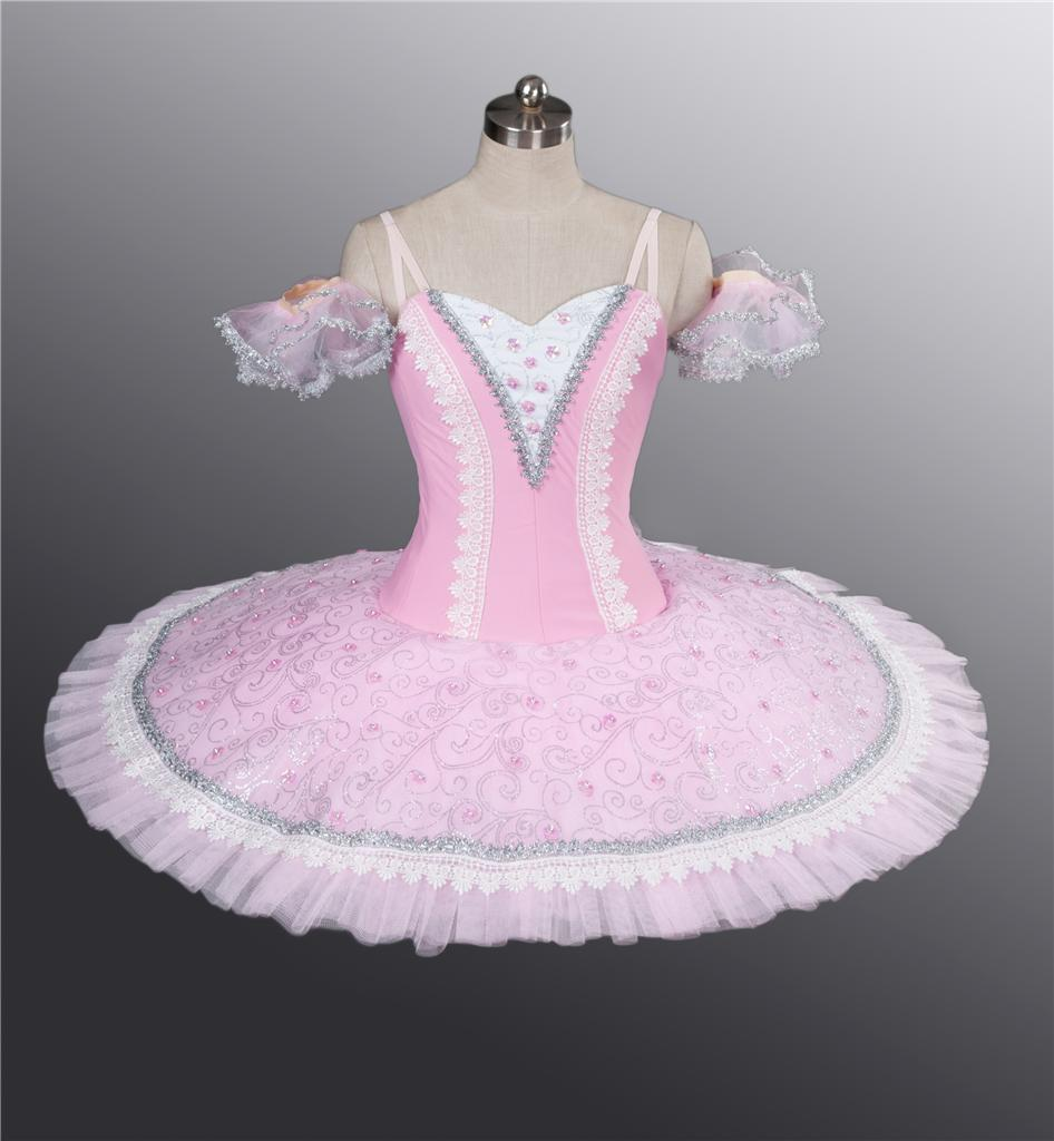 Classical Ballet Tutu Professional Competition Pink Fairy ...