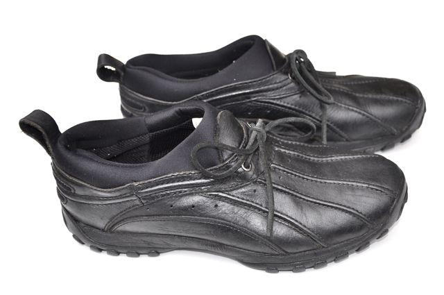 s polo sport leather rubber black duck shoes boots