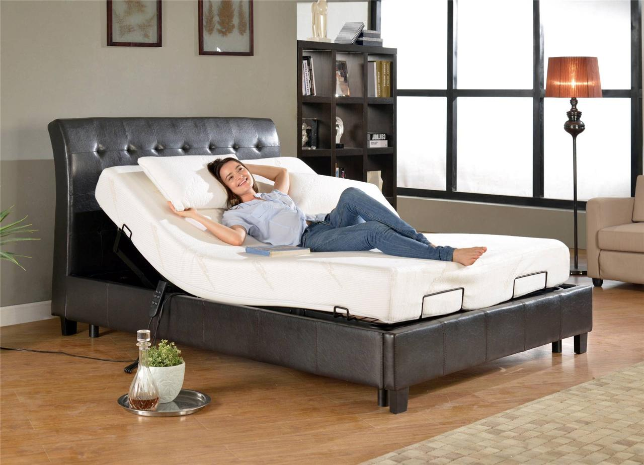 Adjustable Beds Mattress Type : Queen primo black bed sets with adjustable base