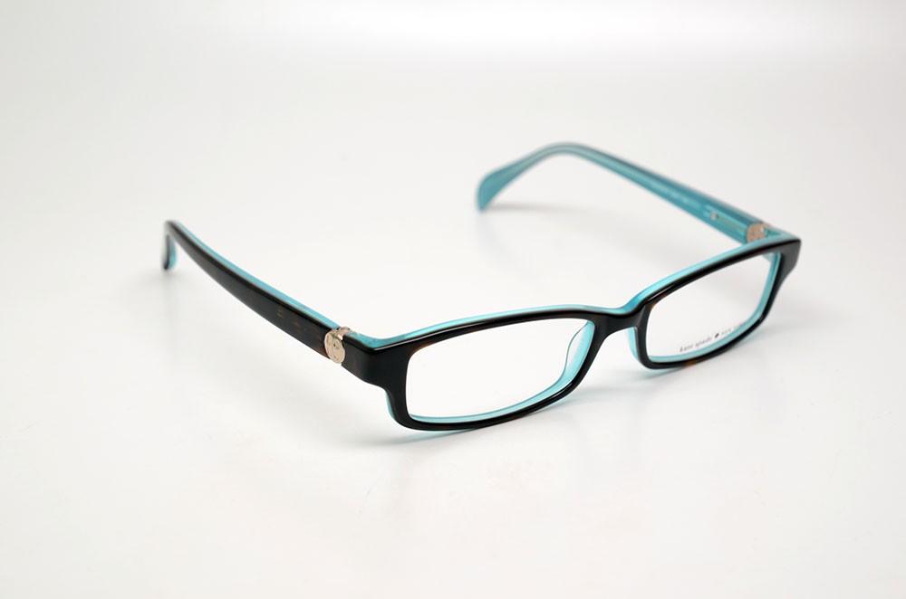Kate Spade Eyeglass Frames 2014 : KATE SPADE ELISABETH JEY TORTOISE/AQUA SIZE 51 AUTHENTIC ...