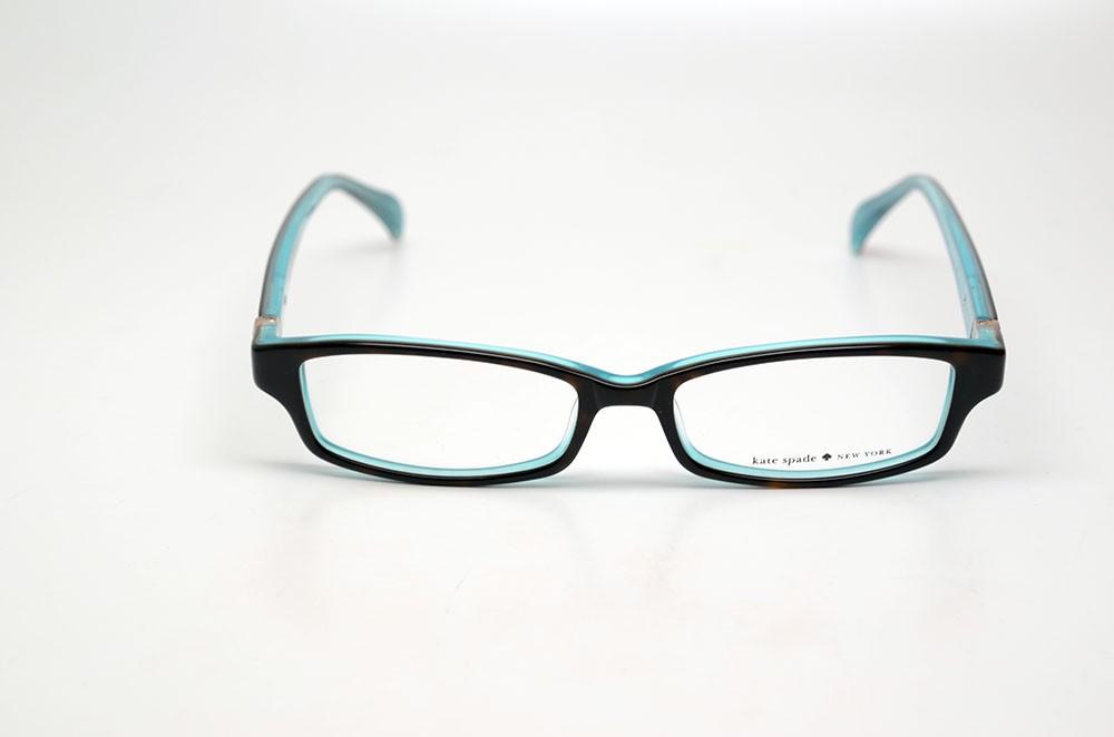 Kate Spade Elisabeth Eyeglasses Frames : KATE SPADE ELISABETH JEY TORTOISE/AQUA SIZE 51 AUTHENTIC ...