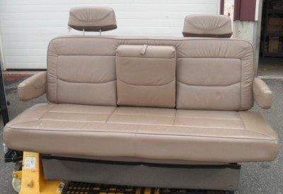 Rv Conversion Van Camper Motor Home Leather Folding Sofa Bed Couch Power Folding Ebay