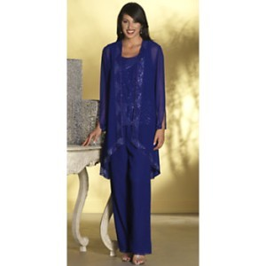 Plus Size Formal Pant Suits For Women