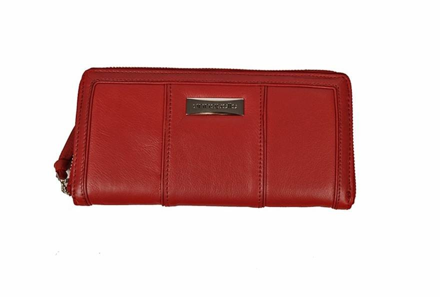 BNEW-STUNNING-ANNAPELLE-RED-LEATHER-LADIES-WALLET-GREAT-GIFT