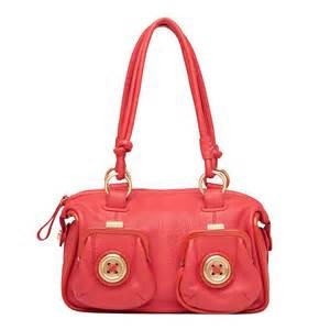 NWT-STUNNING-MIMCO-MINI-BUTTON-BRIGHT-CORAL-LADIES-LEATHER-BAG-GREAT-GIFT