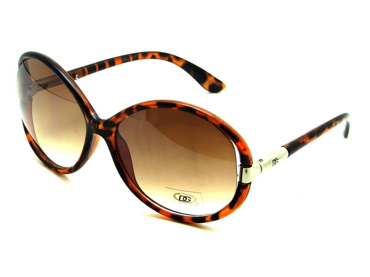 Large womens fashion oversized round circle sunglasses ebay - Dg Women Hippy Round Retro Vintage Hipster Designer