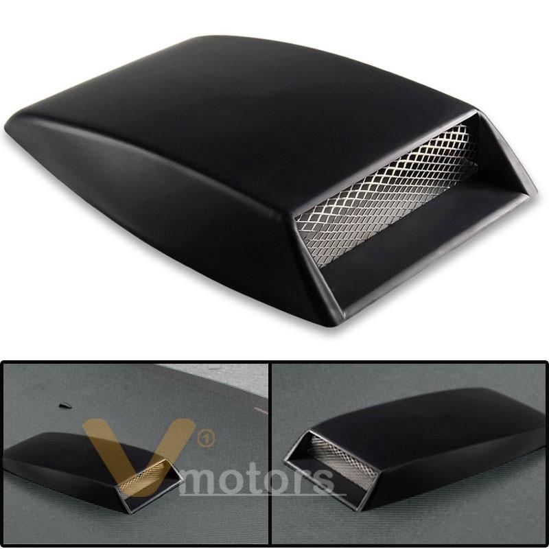 Roof Air Intake : Universal car suv truck air flow intake scoop turbo bonnet