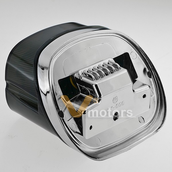 Smoke Led Integrated Tail Light Turn Signal For Harley