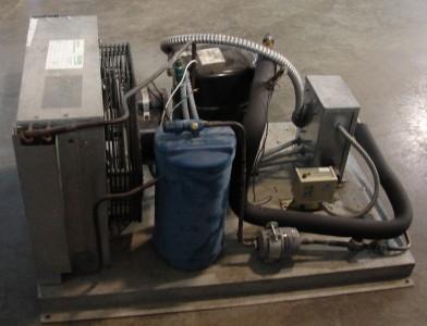 Kolpak indoor remote condensing unit refrigeration for for Walk in freezer motor
