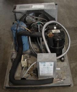 Kolpak indoor remote condensing unit refrigeration for for Walk in cooler motor