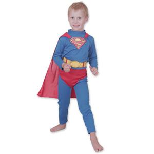 NEW-DC-Comics-SUPERMAN-Dress-Up-Costume-Sz-6-8