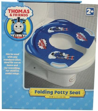 new thomas the tank engine folding potty toilet seat ebay. Black Bedroom Furniture Sets. Home Design Ideas
