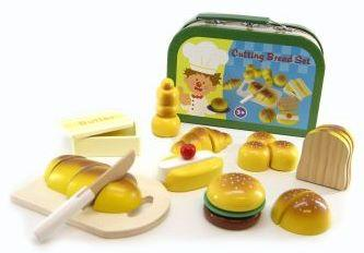 NEW-Kaper-Kidz-Wooden-Bakery-Set-inc-Bread-in-Carry-Case-Play-Toy-Kitchen-Food