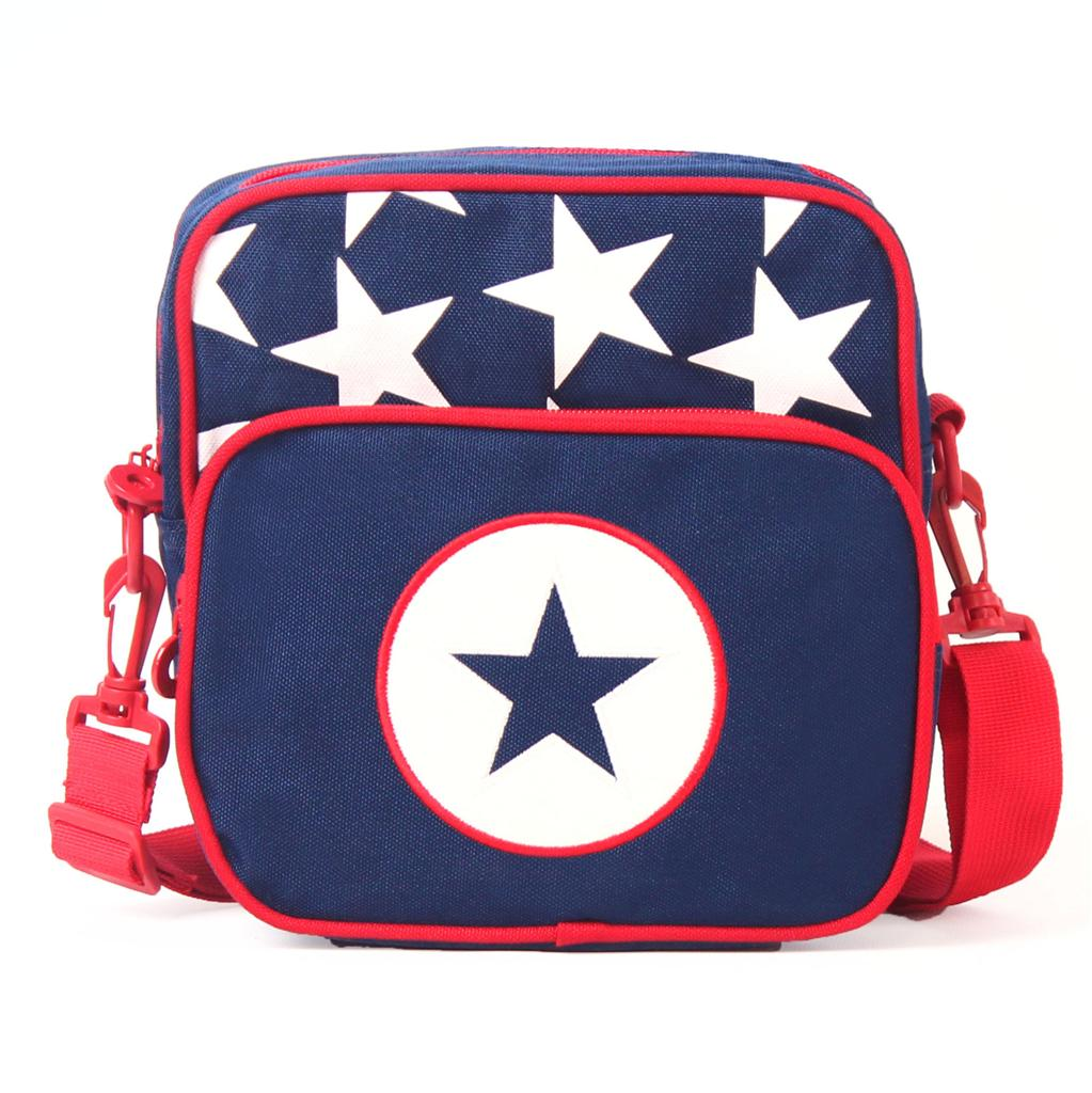 NEW-Penny-Scallan-Junior-Kids-Messenger-Bag-Navy-Star