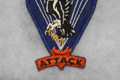 100% ORIGINAL WW2 US 517TH AIRBORNE PARATROOPER POCKET PATCH NO GLOW