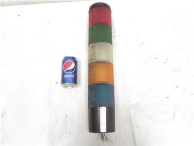 federal signal litestak lsb 5 color lamp tower stack. Black Bedroom Furniture Sets. Home Design Ideas
