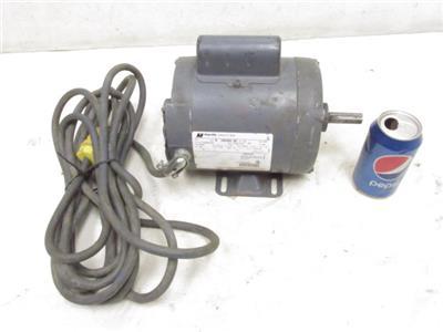 Good magnetek 1 3 hp electric motor 115 208 230 volt for 3 hp electric motor 1725 rpm single phase
