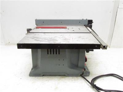Delta Model No 36 550 Bench Top 10 Corded Electric Table Saw 120v Single Phase Ebay