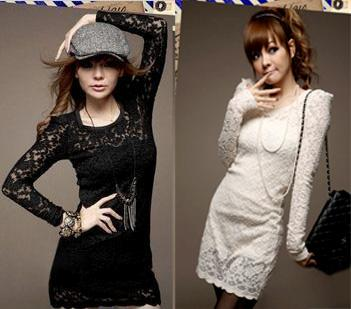 Womens-Floral-Lace-Long-Sleeve-Cocktail-Party-Mini-Dress-Slim-Fit-Clubwear-11