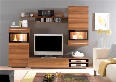 Modern European Wall Unit Entertainment Center