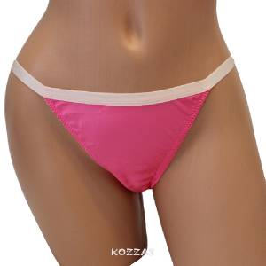 pink satin string bikini - photo #20