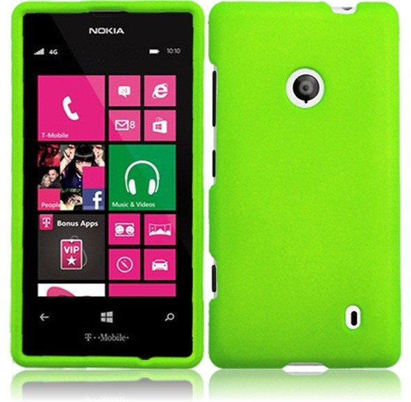 For Nokia Lumia 521 Hard Cover Case + LCD Screen Protector