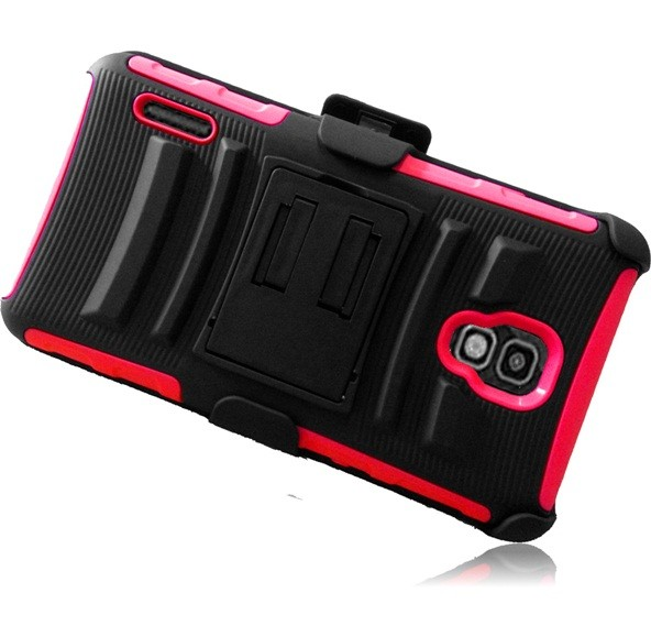 For LG Optimus F7 US780 Side Stand Holster Rugged Cover Case : eBay