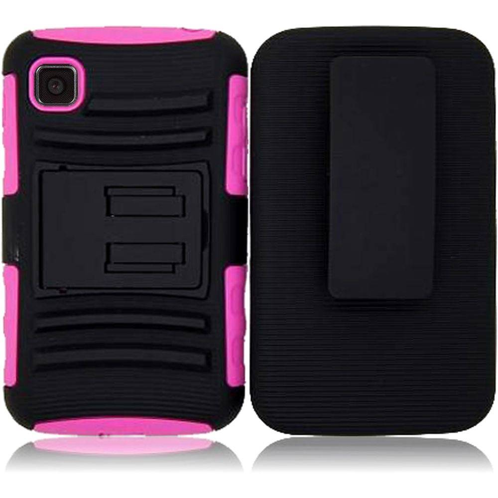 ... For LG Optimus LG39C L39C Dynamic 2 Side Stand Holster Cover Case