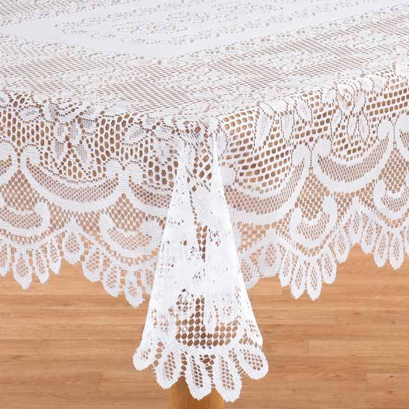 White-Rose-Lace-Tablecloth