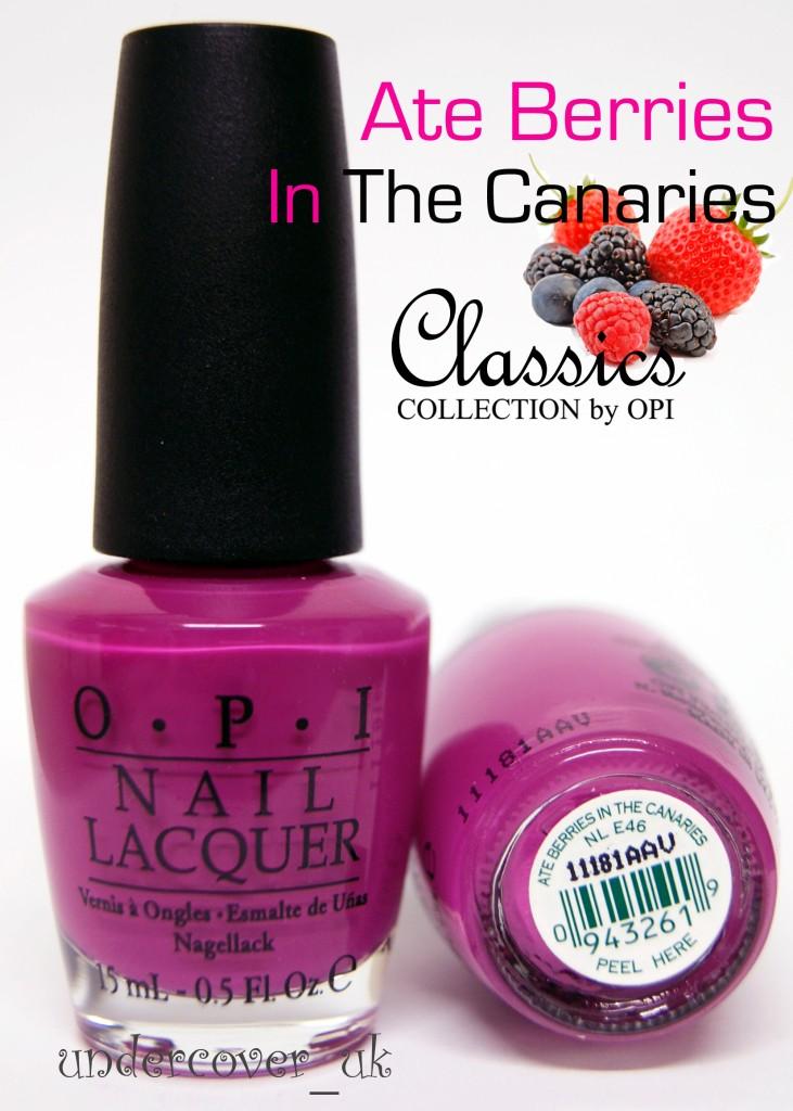 Opi nail polish pink collection remarkable