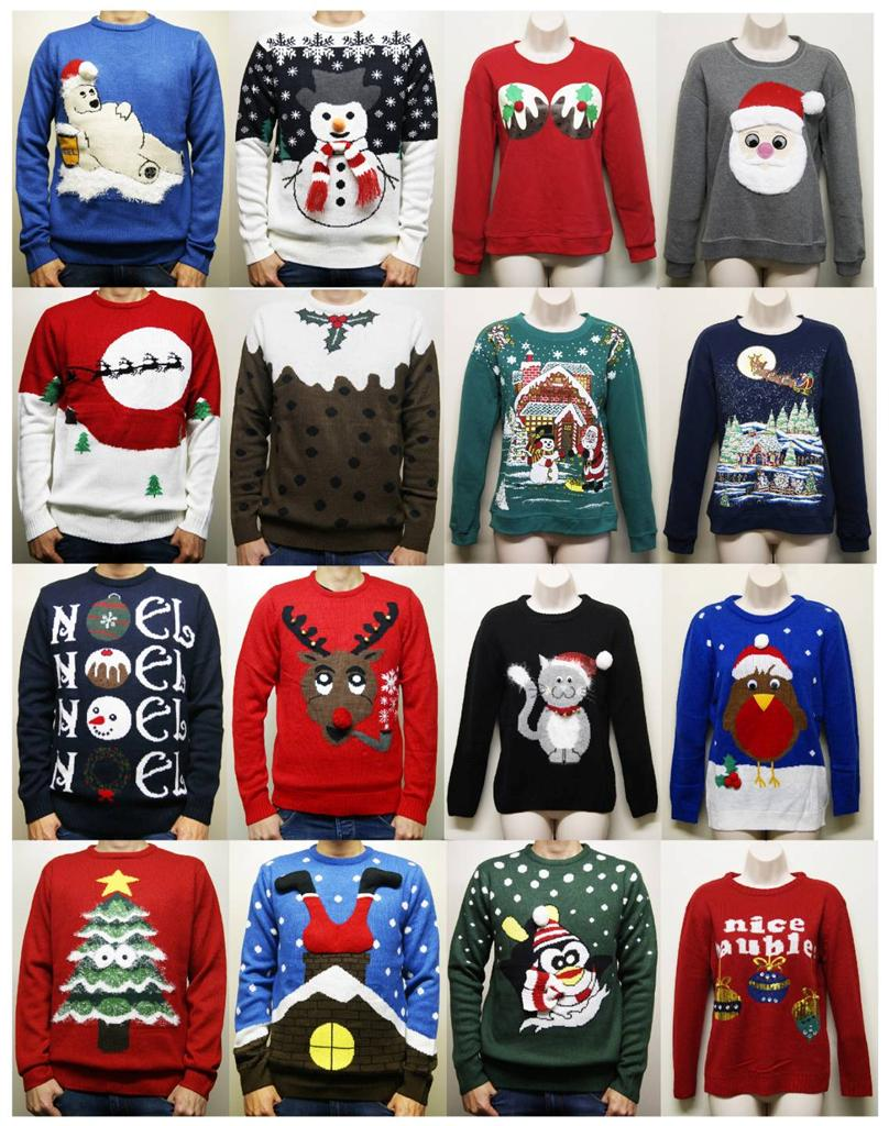 Men Women Primark Novelty Christmas Xmas Gift Jumper Sweater ...