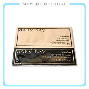 Mary-Kay-Timewise-Cleanser-Moisturizer-Oily-to-Comb-Travel-Samplers-Samples