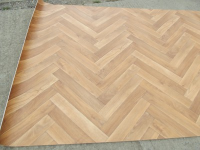 parquet floor style vinyl lino flooring n157 ebay. Black Bedroom Furniture Sets. Home Design Ideas