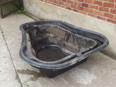 Large start 500 rigid plastic garden pond liner water for Rigid pond liner