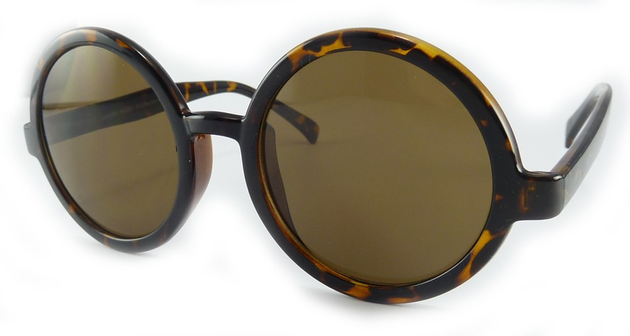 Big Round Oversize Circle Lennon style vintage  Retro Geek Party Fun Sunglasses