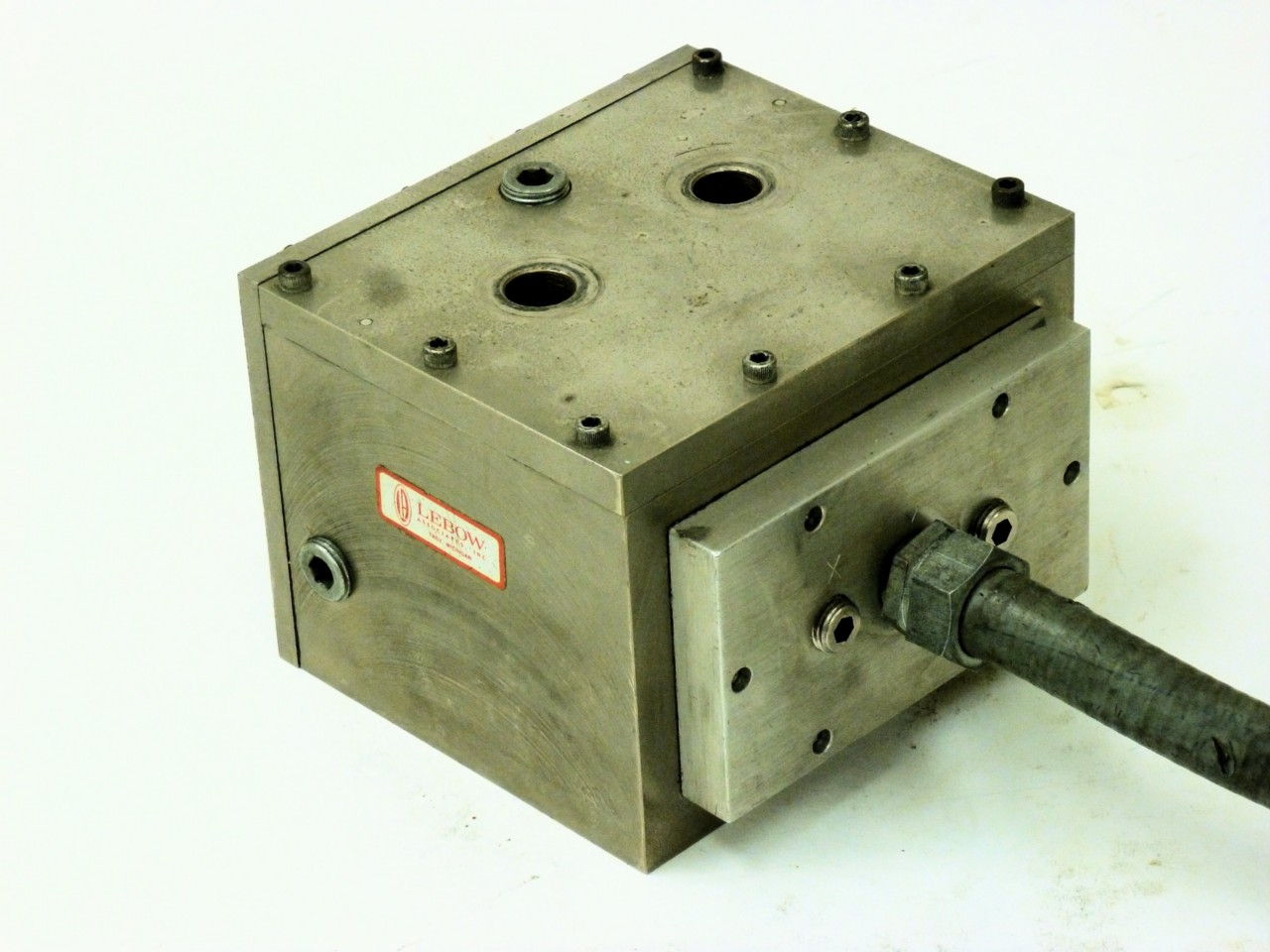 Dynamometer Load Cell : Lebow axis dynamometer transducer load cell for lathe