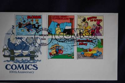 Necessary Comic strip classics stamps