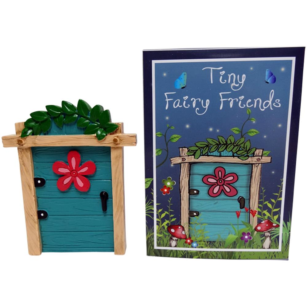 Tiny fairy friends magical resin door gift boxed for Amazon uk fairy doors