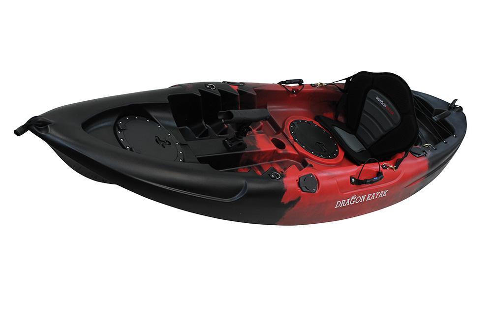 Single seater sit on top ocean fishing kayak canoe seat for Kayak fishing seats