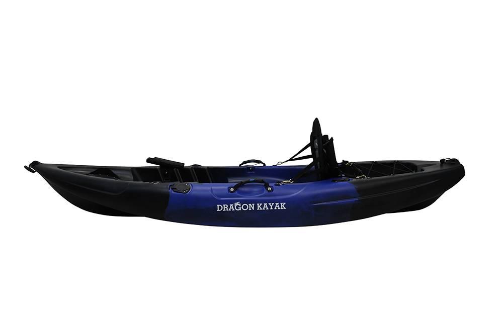 Fishing kayak single sit on rod holders paddle deluxe seat for Fishing kayak brands