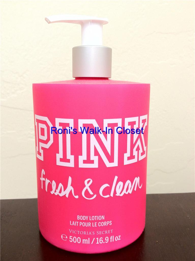 victoria 39 s secret new pink fresh clean body lotion