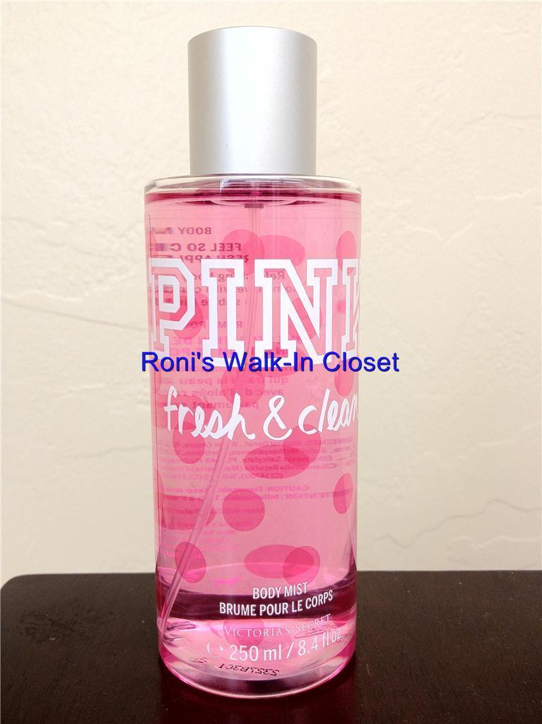 victoria 39 s secret new pink fresh clean body lotion. Black Bedroom Furniture Sets. Home Design Ideas