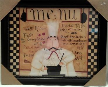 Http Ebay Com Itm Fat Chef Italian Bistro Cafe Bon Appetit Kitchen Plaque Picture Home Decor New 140867142509