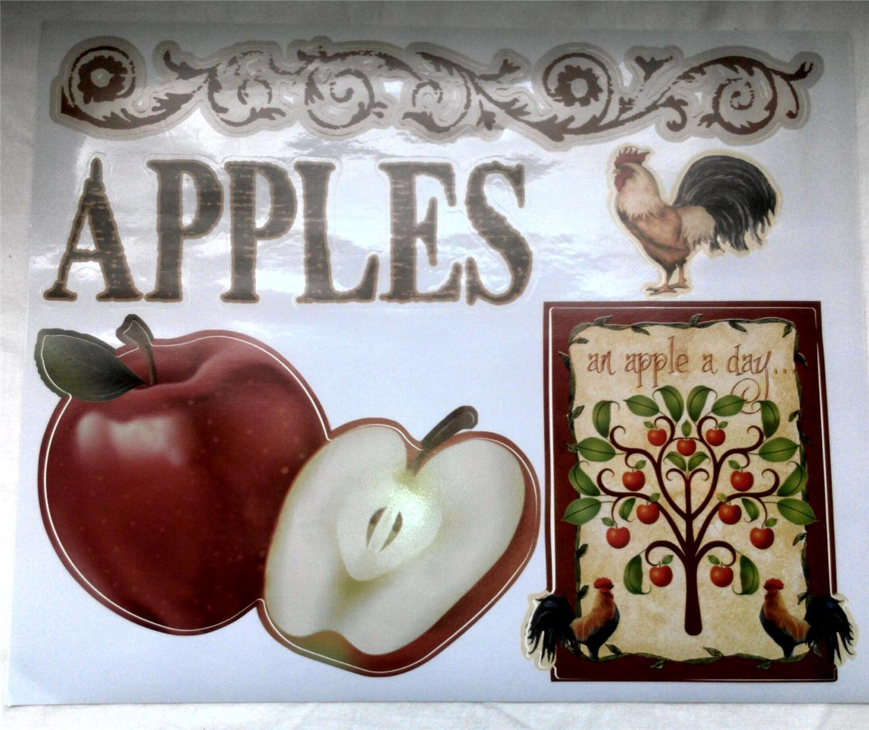 Remarkable Country Apple Kitchen Decals 1218 x 1023 · 151 kB · jpeg