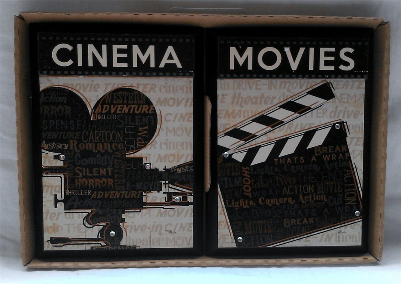 Theater Media Movie Cinema Room Theme 2 Set Picture Wall