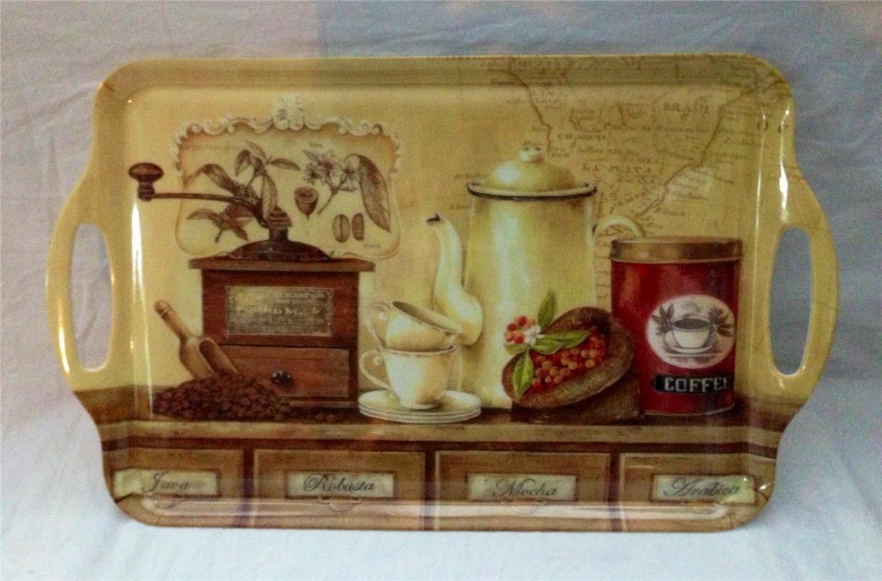Large Bistro Cafe Chef Serving Platter Tray Home Kitchen Interior Decor New Ebay