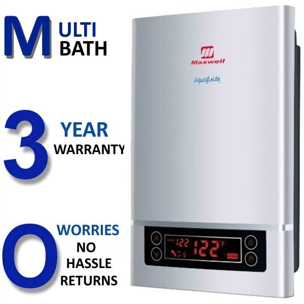 Electric Tankless Hot Water Heater Whole House 4 Gpm