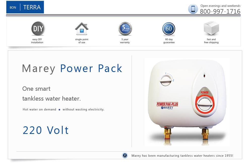 220 volt electric tankless instant on demand hot water heater 3 gpm new marey ebay. Black Bedroom Furniture Sets. Home Design Ideas